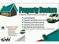 Free house clearances / free garage clearances / Property maintenance services