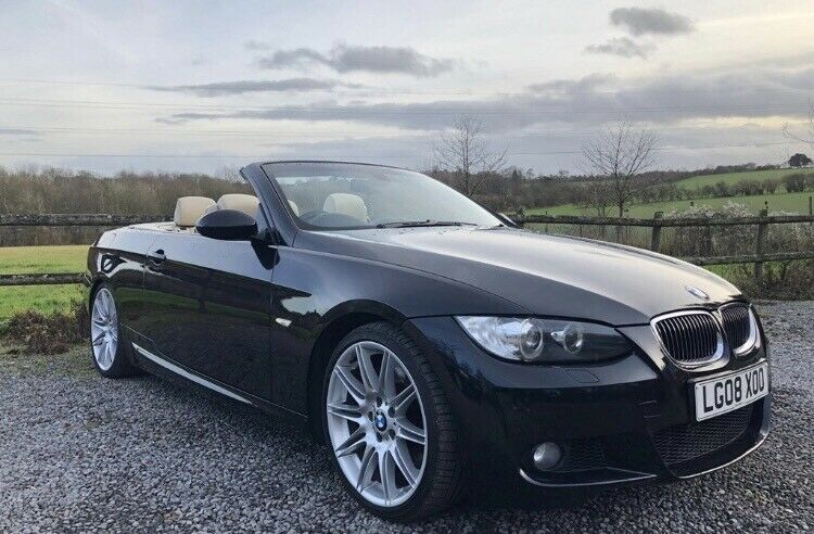 BMW 335I Convertible >> Price Reduced Bmw 335i Convertible Fsh Black M Sport Fully Loaded In Plymouth Devon Gumtree