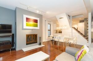 Modern 2  bedroom apartment for rent in the heart of Hintonburg!