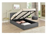 Double ottoman bed brand new condition