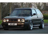 """16"""" staggered klutch ALLOY WHEELS 4x100 VW GOLF MK2 MK1"""