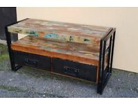 URBAN CHICK Solid Wood Furniture Cabinet TV stand Unit Storage