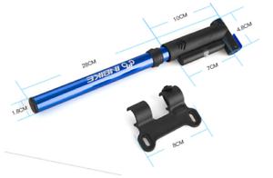 INBIKE High Pressure (120 PSI) lightweight Alloy hand pump Gauge