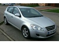 KIA CAR FOR SALE 1.6 DIESEL 07 REG LOW MILEAGE MOT* SERVICE HISTORY* LIKE GOLF, FOCUS,FIESTA, ASTRA
