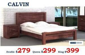 Brand New Solid Timber Bed Frames - Mattress | Discount Sale
