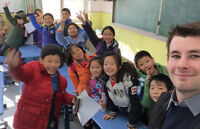 English teachers needed to teach in China