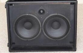 Ashdown ABM cab 2x10 cabinet 300 watt + TWEETER