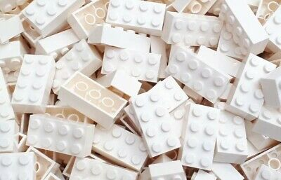 100 weiße 2x4 Lego ® Steine *neu* Bricks 3001 Star Wars Classic - - Star