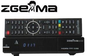 ORIGINAL ZGEMMA H.2S DUAL CORE SATELLITE RECEIVER DVB-S2 TUNER FTA Box