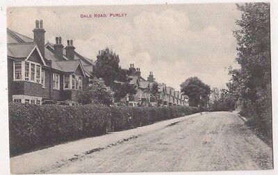 Dale Road Purley Surrey Postcard, B751