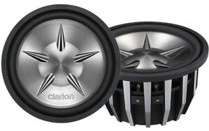 Clarion 12'' Dual 2-ohm voice coil Subwoofer BrandNew on Sale
