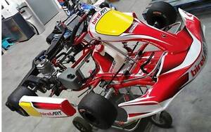 2016 Birel RY30-S8 30mm Chassis with IAME X30 Port Melbourne Port Phillip Preview