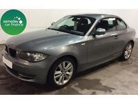 ONLY £193.72 PER MONTH GREY 2010 BMW 118D 2.0 SE COUPE 2 DOOR DIESEL MANUAL