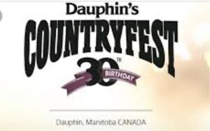 Dauphin Country Fest | Kijiji - Buy, Sell & Save with