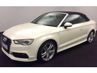 Audi A3 Cabriolet S Line FROM £62 PER WEEK!
