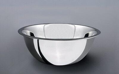 Salvinelli Schüssel Rührschüssel Salatschüssel Teigschüssel Inox rostfrei ca18cm