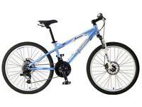 "Carrera Luna Junior Mountain Bike with 24"" Wheels"