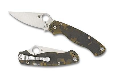 Spyderco C81GPCMO2 Paramilitary 2 Knife Digi Camo G-10 Made in the USA