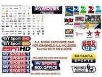 OPENBOX V8s HD SATELITTE BOX [36 months gift] delivered & installed..stoke & staffs..£99...