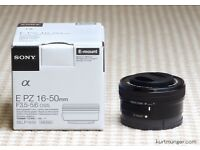 Sony E-Mount 16-50mm Zoom Lens - £80