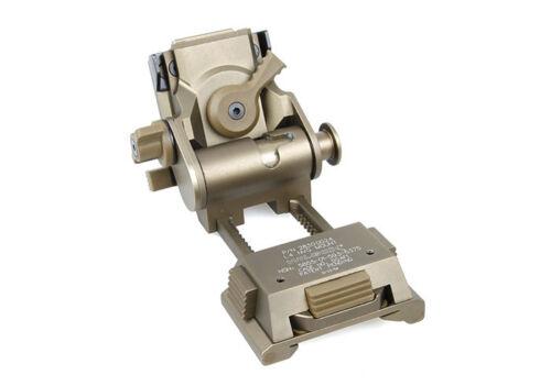 HM L4G24 NVG Helmet Mount CNC (Marking Ver) (DE) Wilcox Fast Mich HM109-DE