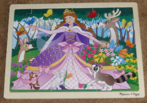 Melissa and Doug Woodland Princess Wooden Jigsaw Puzzle