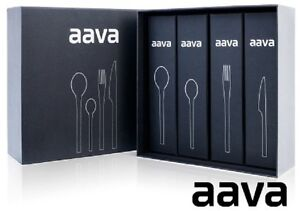 COUTELLERIE STAINLESS 18/10 AAVA 24 PCS ***NEUFS***RV 750.00$