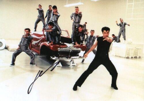 "John Travolta ""Grease"" Autogramm signed 20x30 cm Bild"