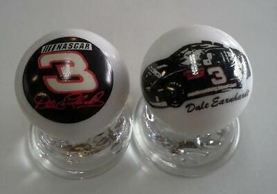 "Set of 2 Dale Earnhardt Collectible Glass 1/"" Logo Marbles"