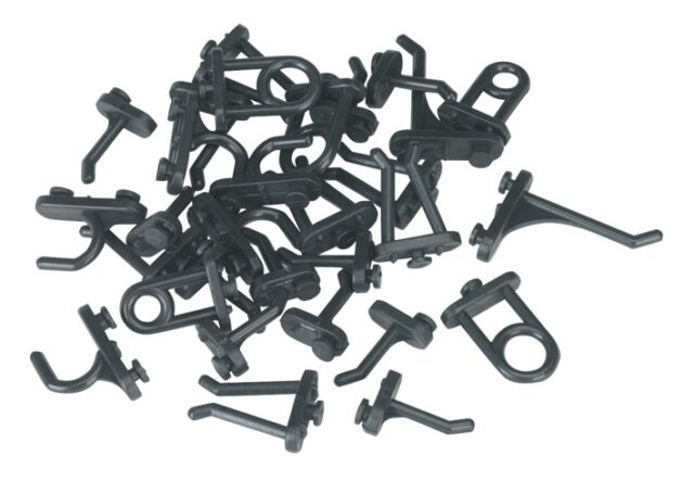 Sealey Hook Assortment for Composite Pegboard 30pc S0766