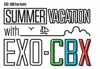 EXO-CBX Fan Event Summer Vacation with EXO-CBX OFFICIAL GOODS LANYARD SEALED