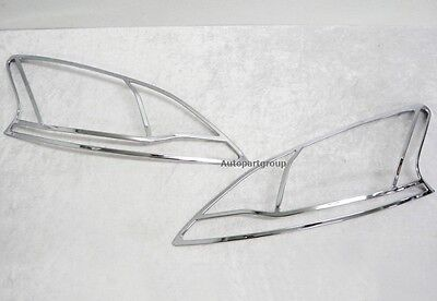 Fit For Nissan Nissan SylphySentra 12 15 Chrome Head Light Cover Trim