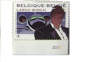 BELGIUM-BELGIQUE-Largo-Winch-Comics-Bandes-Dessinees-MNH-2010