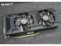 Palit 3GB Nvidia DTX 1060 Dual Fan Brand new full warranty