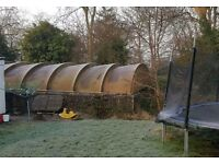 Fibreglass roof or polytunnel **FREE to COLLECT** OXFORD