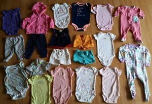 6-Month Size Baby Girl Clothes - 25 Items - $60 for all!