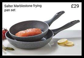 Salter Frying Pan Set