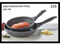 Salter Frying Pan Set