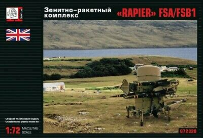 Gran 1/72 Model Kit 72320 Rapier FSA/FSB1 Air defense missile system