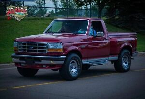 1992 Ford F150 STEPSIDE 4x4 with 92 KMS