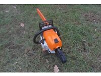 Stihl MS 181 c/be Chainsaw like new May swap or exchange