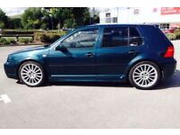 Vw golf mk4 1.9 r32 replica body kit alloys springs upgraded injectors burbur...