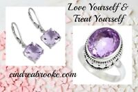 Gems in sterling silver for Valentine's