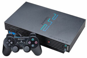 Sony PlayStation 2 Console - Black (SCPH-39001)