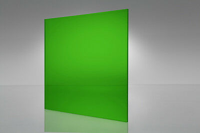 Green Transparent Acrylic Plexiglass Sheet 116 X 6 X 12 2092