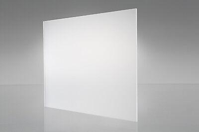 Clear Mattefrosted One Side P-95 Acrylic Plexiglass Sheet 18 X 12 X 12