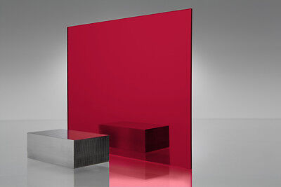 Red Mirror Acrylic Plexiglass Sheet 18 X 24 X 24