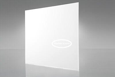 Opaque White Acrylic Plexiglass Sheet 18 X 12 X 12