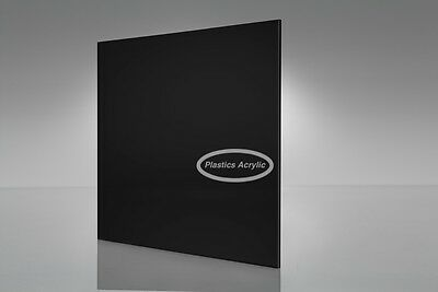 Black Acrylic Plexiglass Sheet 18 X 12 X 12