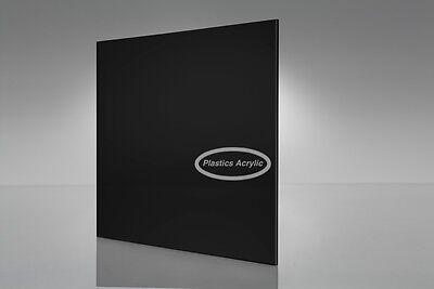 Black Acrylic Plexiglass Sheet 18 X 12 X 12
